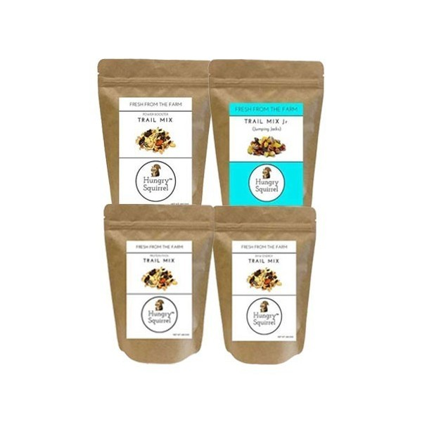 Hungry Squirrel- Dry Fruits Combo- Tasty & Healthy Snack Packs For Kids