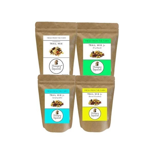 Hungry Squirrel- Dry Fruits & Nuts Combo- Tasty & Healthy Snack Packs