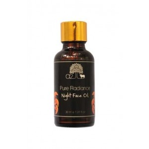 A2 Naturals Pure Radiance Night Face Oil