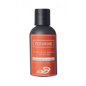 Zoivane Natural Daily Scrub for Men- Get Even Skin Tone & Reduce Blemishes
