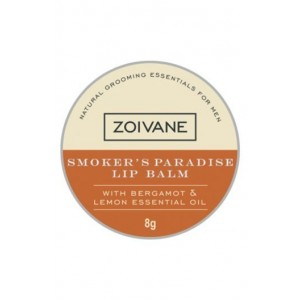 Zoivane Smoker's Paradise Natural Lip Balm for Men- One Solution to All Lip Problems.