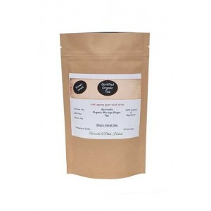 Woods And Petals- Organic Moringa Ginger Tea- 10 Tea Bags