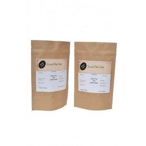 Woods And Petals- Green Tea With Lemongrass- Set Of 2