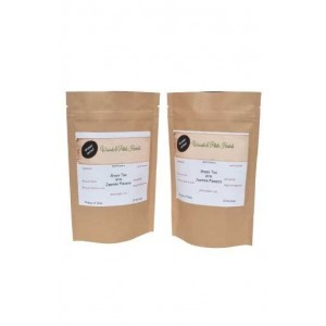Woods And Petals- Green Tea With Jasmine Flower- Set Of 2