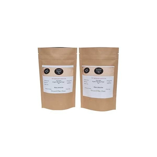Woods And Petals- Moringa Ginger Tea- Set Of 2