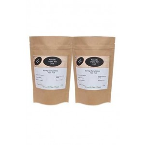 Woods And Petals- Moringa Curry Leaves Hair Pack- Set Of 2