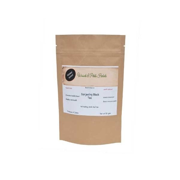 Woods And Petals Darjeeling Black Tea