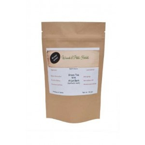 Woods And Petals Darjeeling Green Tea With Arjun Bark Ayurvedic Herb