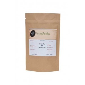 Woods And Petals Darjeeling Green Tea With Lemongrass