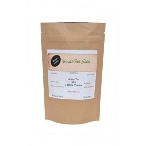 Woods And Petals Darjeeling Green Tea With Jasmine Flower