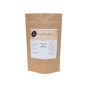 Woods And Petals Darjeeling Green Tea With Rose Petals Tea Bags