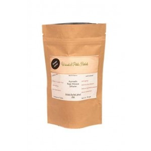 Woods And Petals- Ayurvedic Rose Hibiscus Tea- 50Gms