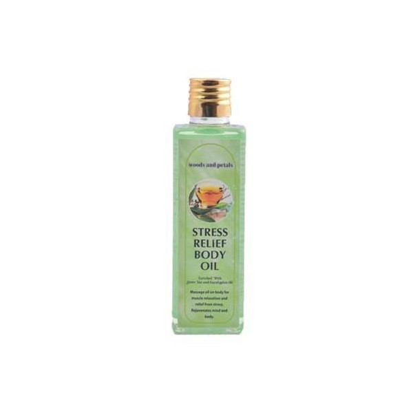 Woods And Petals- Stress Relief Body Oil- 100Ml