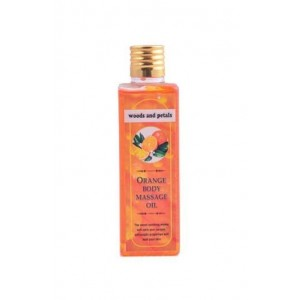 Woods And Petals- Orange Body Massage Oil- 100Ml