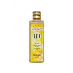 Woods And Petals- Lemongrass Body Massage Oil- 100Ml