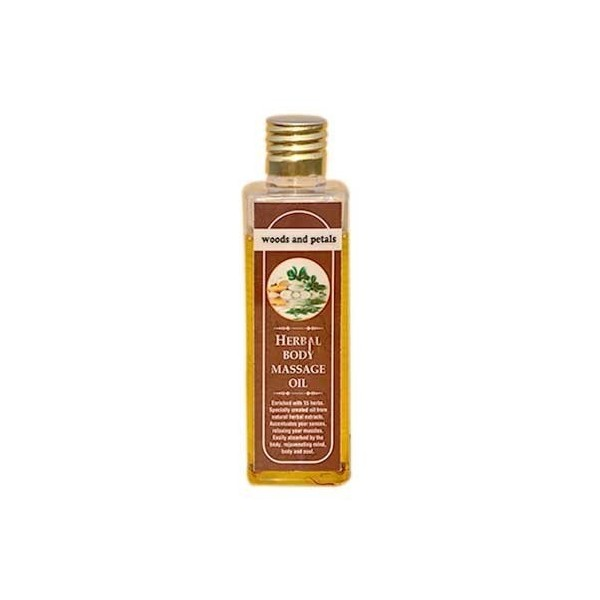 Woods And Petals- Herbal Body Massage Oil- 100Ml