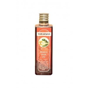 Woods And Petals- Herbal Hair Oil- 100Ml