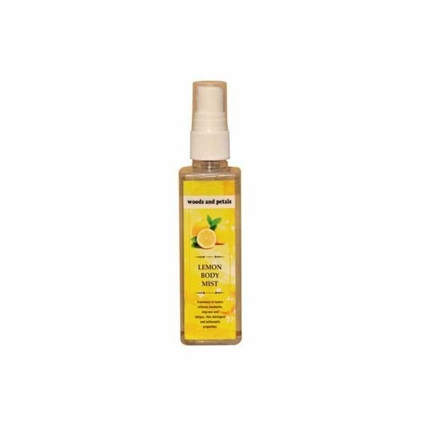 Woods And Petals- Lemon Body Mist- 100Ml