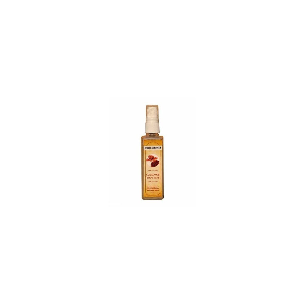 Woods And Petals- Sandalwood Body Mist- 100Ml