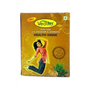 Vedika Aloe Vera Herbal Health Drink For Women (With Shatavari & Jatamansi)