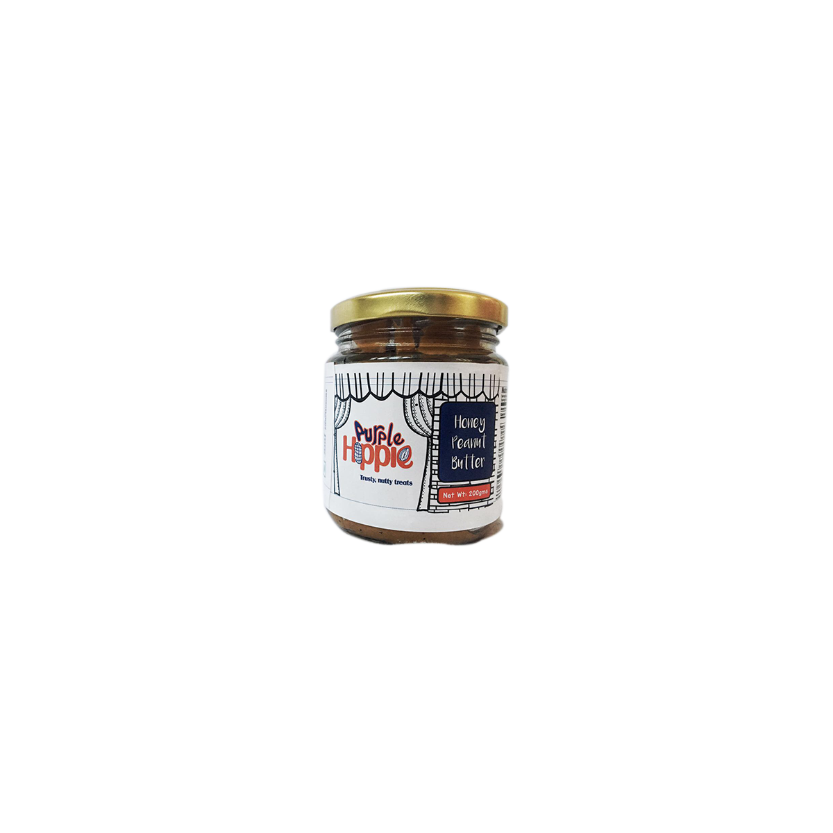 Purple Hippie Organic Honey Peanut Butter