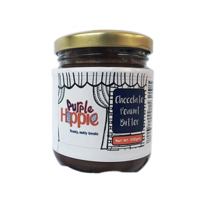 Purple Hippie Organic Peanut Butter (Chocolate)