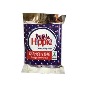 Purple Hippie Granola Bar (Fudgy Brownie)