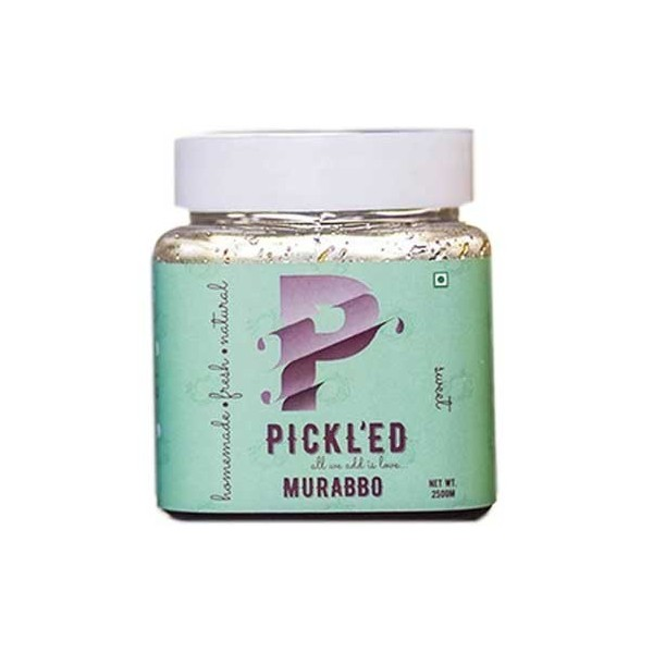 Pickl'Ed -Murabbo Pickle - Traditional Indian Jam With Mango Pieces & Spices- 250Gms