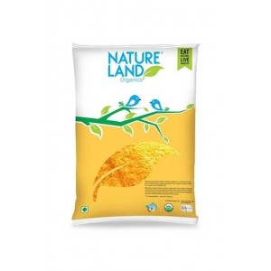 Natureland Organics Maize Flour 500 Gm