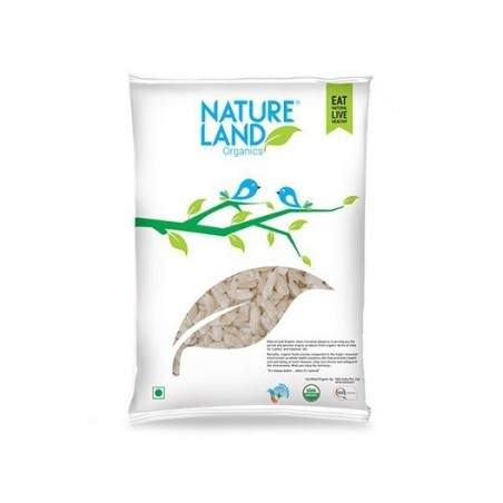Natureland Organics Red Rice Poha 500 Gm