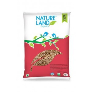 Natureland Organics Wheat Bran 500 Gm