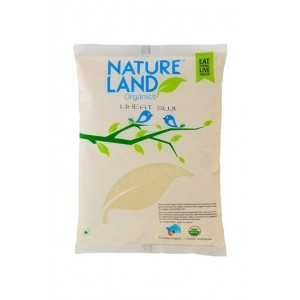 Natureland Organics Wheat Suji 500 Gm