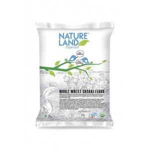 Natureland Organics Whole Wheat Flour 5 Kg