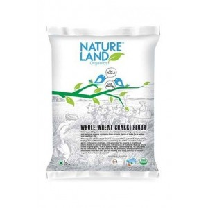 Natureland Organics Whole Wheat Grain 5 Kg