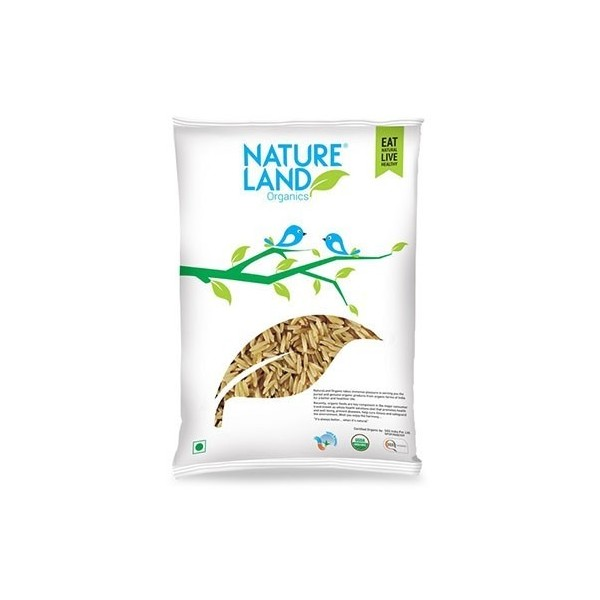Natureland Organics Brown Rice Premium 1 Kg