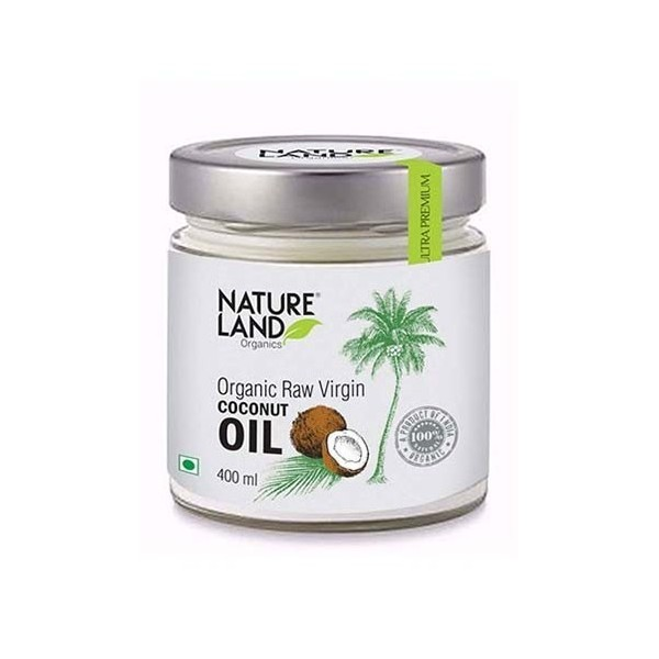 Natureland Organics Coconut Oil 400 Ml