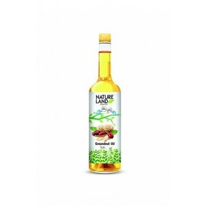 Natureland Organics Groundnut Oil 1 Ltr.