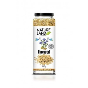 Natureland Organics Flaxseed Raw 150 Gm