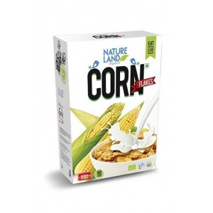 Natureland Organics Corn Flakes 250 Gm