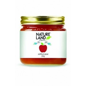 Natureland Organics Apple Jam 250 Gm