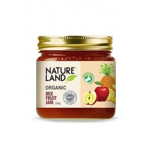 Natureland Organics Mix Fruit Jam 250 Gm