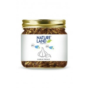 Natureland Organics Garlic Pickle 350 Gm