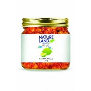 Natureland Organics Lemon Pickle 350 Gm