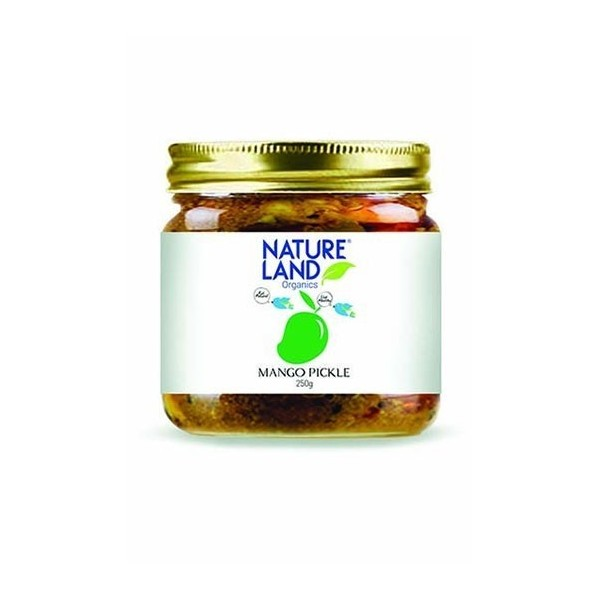 Natureland Organics Mango Pickle 350 Gm