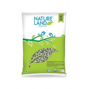 Natureland Organics Green Peas 500 Gm