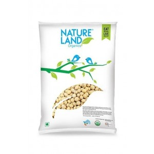 Natureland Organics Soybean Whole 500 Gm