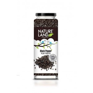 Natureland Organics Black Pepper 75 Gm (Pack Of 3)