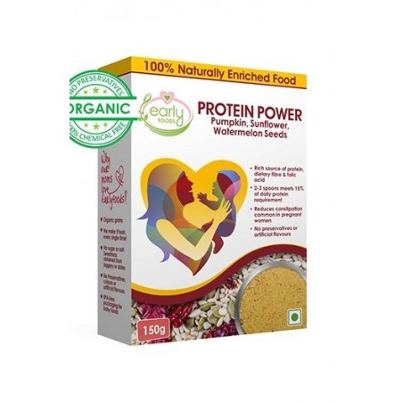 Early Foods- 100% Organic Prenatal Protein Powder- Healthy Chutney Mix