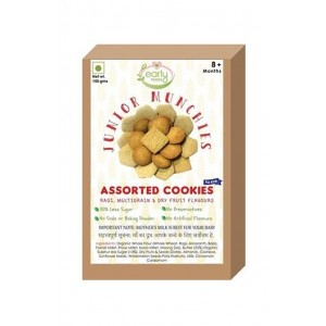 Early Foods- 100% Organic Assorted Cookies -Baby And Kids Snack- 8 Months +