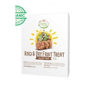 Early Foods Sugar Free Ragi And Dry Fruit Laddoos 400Gm